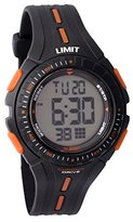 Limit Boy's Digital Watch with LCD Dial Digital Display and Black Plastic Strap 5393.56
