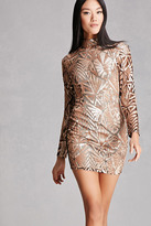 Forever 21 FOREVER 21+ Girl In Mind Sequined Dress