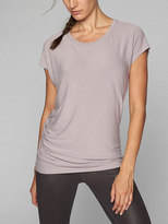Athleta Threadlight Asym Relaxed Tee