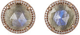 Irene Neuwirth Women's Mixed-Gemstone Circular Studs-Black