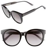 Bottega Veneta Women's 52Mm Sunglasses - Black/ Grey/ Smoke