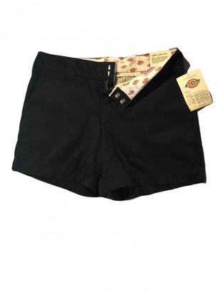 Dickies Black Cotton Shorts