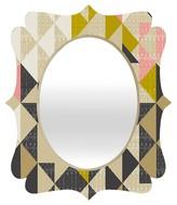 DENY Designs Nomad Quilt Quatrefoil Mirror
