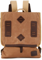 Will Leather Goods Burnt Lake Canoe Pack Backpack, Field Tan