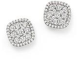 Bloomingdale's Diamond Cluster Earrings in 14K White Gold, 1.0 ct. t.w.