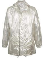 Julien David Oversized Jacket - Silver - Size L