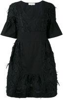L'Autre Chose shift dress - women - Cotton/Polyamide/Polyester - 44