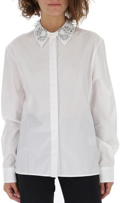 Paco Rabanne Collar Embroidered Shirt