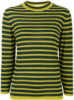 Marni crew neck sweater - women - Silk/Virgin Wool - 40
