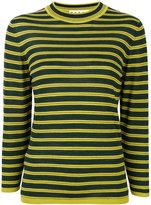 Marni crew neck sweater - women - Silk/Virgin Wool - 42