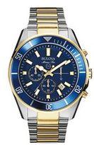 Bulova Men's Marine Star Two Tone Stainless Steel Chronograph Watch - 98B230