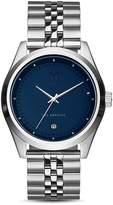 Mvmt Rise Blue Dial Watch, 41mm