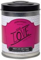 Aromatherapy Tin Candle Give Love 8.6oz