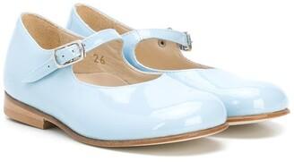 Pépé Buckled Round-Toe Ballerinas