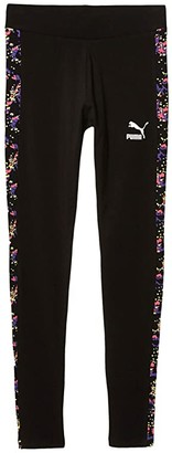 Puma All Over Print Leggings Black 1) Women's Workout