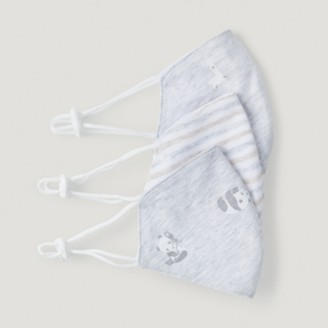 The White Company Animal Non-Medical Face Masks Set of 3, Grey, One Size