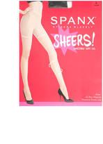 Spanx Black Sheers
