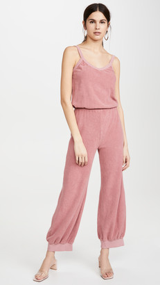 Kondi Terry Tank Jumpsuit