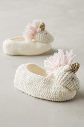 BEIGE Crocheted Booties By Albetta in Size ALL