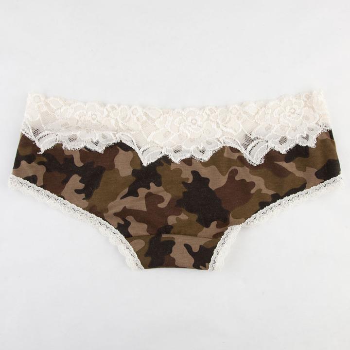 Camo Lace Panties