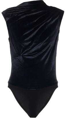 RtA Julie velvet bodysuit