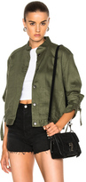 Frame New Jacket in Green.