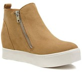 Goodnight Macaroon 'Pollie' Faux Suede Wedge Sneakers (5 Colors)