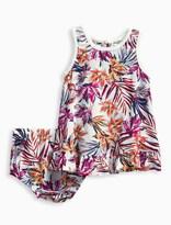 Splendid Baby Girl Allover Print Voile Dress