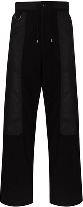 Nicholas Daley Side-Panel Straight-Leg Trousers