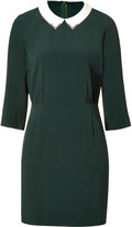 Bottle Green Demure Dress