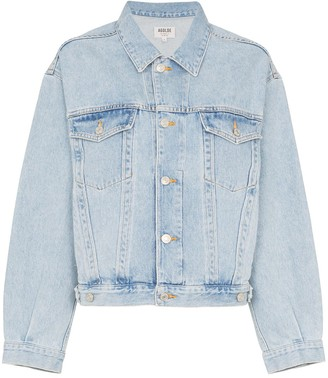 A Gold E Agolde classic denim jacket