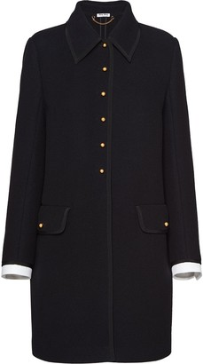 Miu Miu Wool Knit Coat