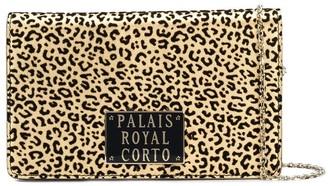 Corto Moltedo Leopard Print Wallet Bag