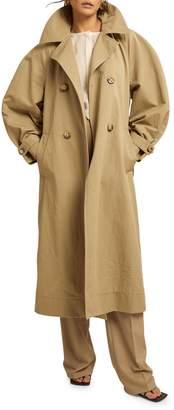 LES COYOTES DE PARIS Ruby Cotton-Blend Trench Coat