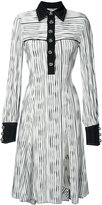 Prabal Gurung longsleeved polo dress - women - Polyester/Elastolefin - 2
