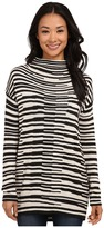 Nic+Zoe Stacked Stripes Top