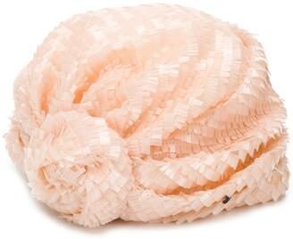 Maison Michel Hiromi sequin silk turban
