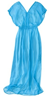Mossimo Women's Chiffon Maxi Kimono Dress - Assorted Colors