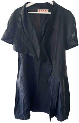 Marni Black Viscose Dresses