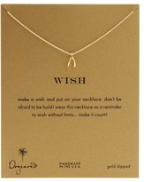 Dogeared Jewels - Wish Reminder 16 inch (Gold) - Jewelry