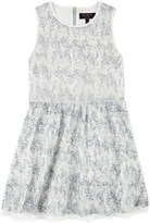 Juicy Couture Girls Floral Sequins Dress