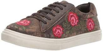 Roper Women's Madeline Sneaker Brown 6 D US