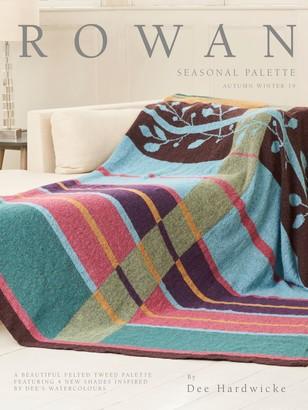 Rowan Seasonal Colour Palette Felted Tweed Knitting Projects Book