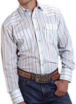 Roper Classic Striped Shirt - Snap Front, Long Sleeve (For Men and Big Men)