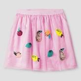 Cat & Jack Girls' A Line Skirt Cat & Jack - Peppermint Stick