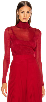 Max Mara Pavento Knit Top in Red | FWRD