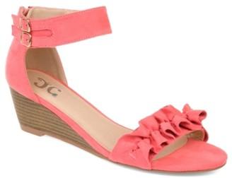 Journee Collection Aveya Wedge Sandal