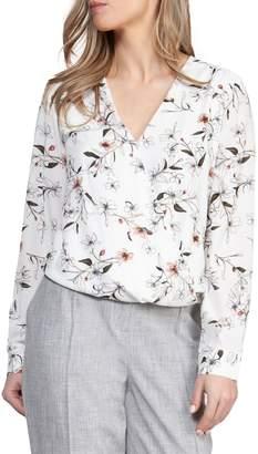 Dex Floral-Print Long-Sleeve Blouse