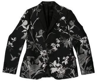 Gucci Embroidered Metallic Birds Blazer