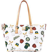 Dooney & Bourke MLB Athletics Zip Top Shopper